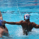 با پایان بازیهای مرحله گروهی تیمهای صربستان ، کرواسی ، مجارستان و مونتهنگرو بصورت مستقیم راهی مرحله یک چهارم نهایی  رقابتهای واترپلو مردان قهرمانی جهان به میزبانی مجارستان شدند.