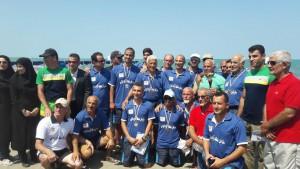 تیم گیلان قهرمان مسابقات شنای آبهای آزاد جام خزر شد