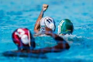 گزارش تصویری _ دیدار واترپلوی جوانان ایران مقابل آفریقای جنوبی