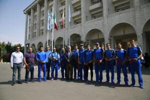 گزارش تصویری – استقبال از تیم ملی شنا اعزامی به ترکمنستان