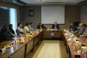حضور رضوانی در جلسه هم اندیشی شنا فارس