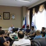 تیم ملی شنا اعزامی به مسابقات بازیهای داخل سالن آسیا ترکمنستان امروز در فدراسیون با محسن رضوانی دیدار داشتند. در پایان این جلسه از تلاش های ملی پوشان قدردانی شد.