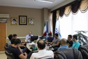 گزارش تصویری_دیدار صمیمانه تیم ملی شنا اعزامی به ترکمنستان با رضوانی