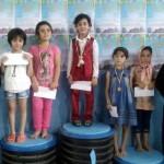 جشنواره شنای نونهالان دختر شهرستان یزد برگزار و از نفرات برتر تجلیل شد.