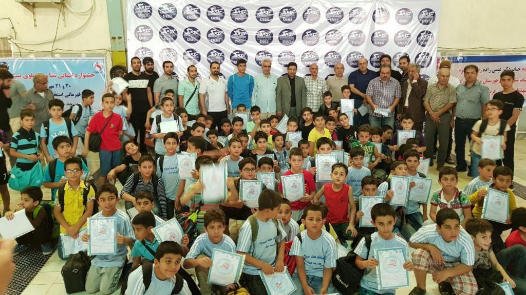 شنا نونهالان خوزستان 09