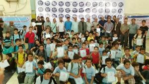 برگزاری جشنواره شنای نونهالان زیر ۱۰ سال استان خوزستان در آبادان