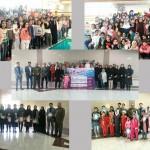 به مناسبت هفته تربیت بدنی و ورزش جشنواره شنای دختران در شهرستانهای شبستر و باسمنج استان آذربایجان شرقی برگزار شد.