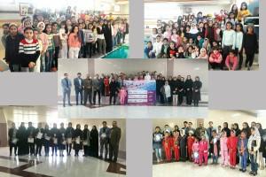برگزاری جشنواره شنا دختران استان آذربایجان شرقی