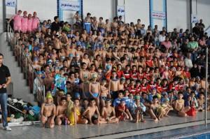 برگزاری جشنواره شنا بین استخری نونهالان پسر اصفهان