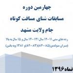آئین نامه اجرایی  چهارمین دوره مسابقات شنای مسافت کوتاه جام ولایت مشهد اعلام شد.