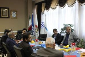 گزارش تصویری_جلسه گزارش عملکرد کمیته بازاریابی به هیات رئیسه فدراسیون شنا