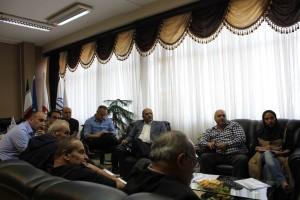 گزارش تصویری_ برگزاری جلسه کمیته فنی واترپلو در فدراسیون