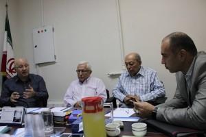 گزارش تصویری- برگزاری جلسه کمیته فنی شیرجه