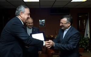 گزارش تصویری _ دیدار وزیر ورزش و جوانان ایران با پائولو بارلی نایب رئیس فینا