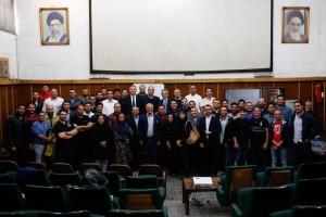 گزارش تصویری(2) – نشست تخصصی راههای توسعه و پیشرفت واترپلو با حضور الساندرو کامپانا در تهران