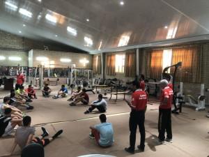 پیگیری اردو تیم شنا منتخب رده سنی آینده سازان کشور در نیشابور