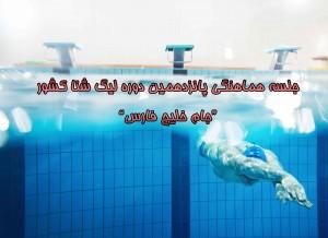 نخستین جلسه هماهنگی پانزدهمین دوره لیگ شنا 30 آبان برگزار میشود