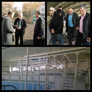 بازدید رضوانی از روند تکمیل استخر یادگار امام و طرح های در دست احداث آذربایجان شرقی