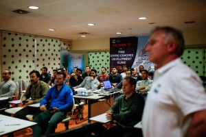 گزارش تصویری_برگزاری کلینیگ بین المللی توسعه مربیان شیرجه