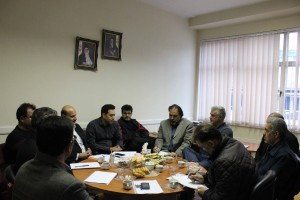 گزارش تصویری_نخستین جلسه هماهنگی پانزدهمین دوره لیگ شنا