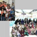 جشنواره شناي شهرستان كاشان به مناسبت روز دانش آموز برگزار شد.