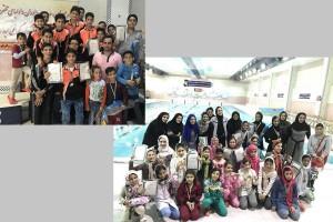 برگزاري جشنواره شناي كاشان به مناسبت روز دانش آموز
