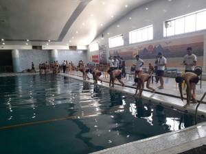 گزارش تصویری_برگزاری مسابقات شنا شهرستان بيرجند