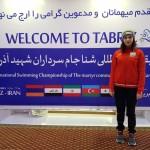 شناگر جمهوري آذربايجان گفت: فكرش را هم نمي كردم دختران ايراني اصلي ترين رقباي من در مسابقات باشند.