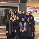 دو دوره کلاس مربیگری درجه سه شنای بانوان با مدرسی فروزنده زرآور و لیلا کوثریان در شیراز برگزار شد.