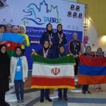 برگزاری مسابقات بین المللی شنا، تجربه خوبی برای دختران شناگر ایرانی بود.