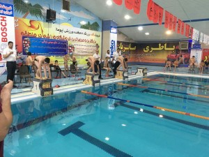 برگزاری مرحله نخست ششمین دوره لیگ شنای استان استان آذربایجان شرقی