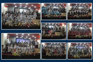 مراسم اختتامیه ششمین دوره لیگ شنا دختران و پسران بوشهر