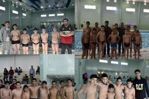 برگزاری اولین دور لیگ شنا قهرمانی باشگاههای استان خوزستان