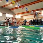 به مناسبت گرامیداشت دهه مبارک فجر جشنواره شنای پسران در استان آذربایجان شرقی برگزار شد.