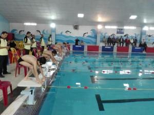برگزاری جشنواره شنا پسران شهرستانهای شمالی و جنوبی استان فارس