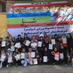 اولين المپياد شنا منطقهای دختران به مناسبت گرامیداشت دهه مبارک فجر به میزبانی كرمانشاه در استخر كوثر برگزار شد.