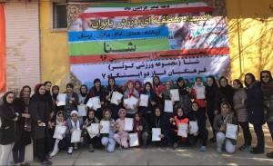 برگزاری اولين المپياد شنا منطقهای دختران استان كرمانشاه