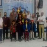 مسابقات جشنواره شنا بین استخری پسران استان اصفهان در رده سنی زیر 10 سال  با قهرمانی تیم اریس به پایان رسید.
