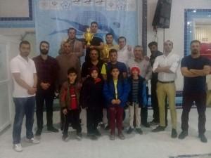 قهرمانی تیم اریس در جشنواره شنا زیر 10 سال اصفهان