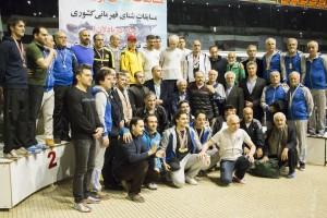 گزارش تصویری_مراسم اختتامیه مسابقات شنا بزرگسالان جام دریادلان