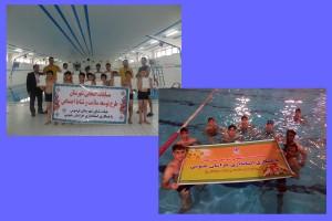 برگزاري مسابقات شنا شهرستانهای فردوس و قاین خراسان جنوبي