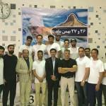 مسابقات شنا قهرمانی استان بوشهر سال ۱۳۹۶ در بخش آقایان با حضور ۴ تیم پنجشنبه(26 بهمن 1396) برگزار شد.