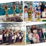 مسابقات شنا  دختران زیر 11 سال استان قزوین روز گذشته(جمعه) به مناسبت گرامیداشت دهه مبارک فجر به میزبانی استخر شهید رجایی این استان برگزار شد.