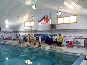 برگزاری مسابقات شنا آقایان استان مازندران