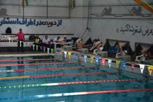 برگزاری مسابقات شنا گرامیداشت دهه مبارک فجر استان فارس