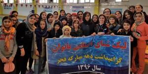 برگزاری مرحله سوم لیگ شنا بانوان آذربایجان شرقی