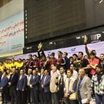 سرزمین موج های آبی مشهد با کسب ۴۷۶۷ امتیاز برای پنجمین سال متوالی قهرمان لیگ شنای ایران شد.