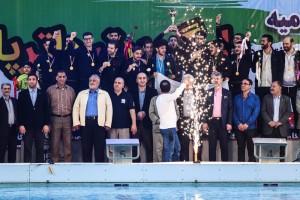 گزارش تصویری_ اختتامیه بیست و هفتمین دوره لیگ برتر واترپلو