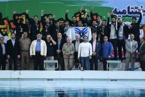 دانشگاه آزاد قهرمان بیست و هفتمین دوره لیگ برتر واترپلو شد
