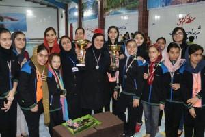 برگزاری مرحله پایانی لیگ شنا بانوان استان خوزستان